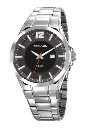 Relógio Masculino Seculus Todo em Aço Inox 23672G0SVNA1