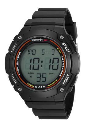 Relógio Speedo Masculino Esportivo Preto 81192G0EVNP2