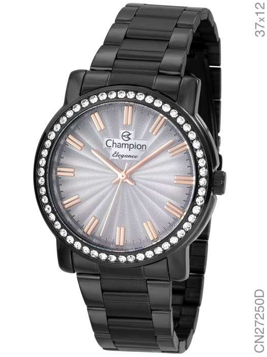 Relógio Champion Feminino Preto CN27250D