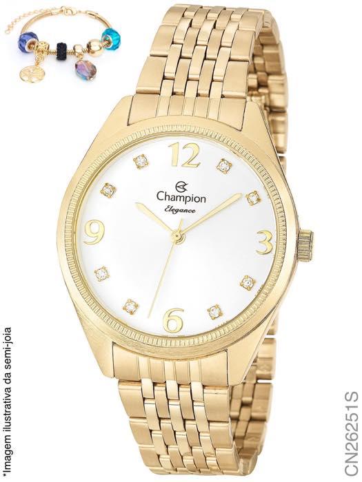 Relógio Champion + pulseira