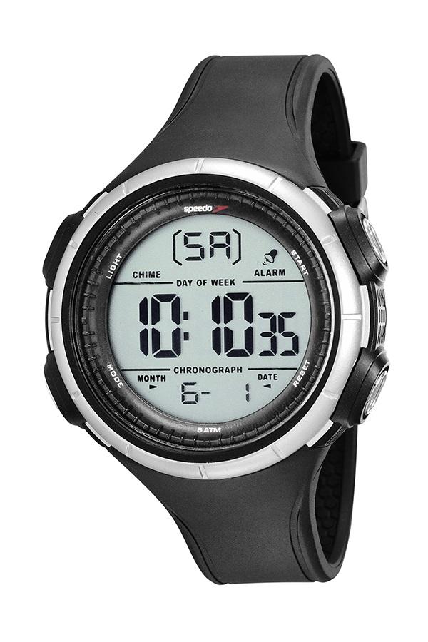 Relógio Speedo Masculino Esportivo Preto 81194G0EVNP2