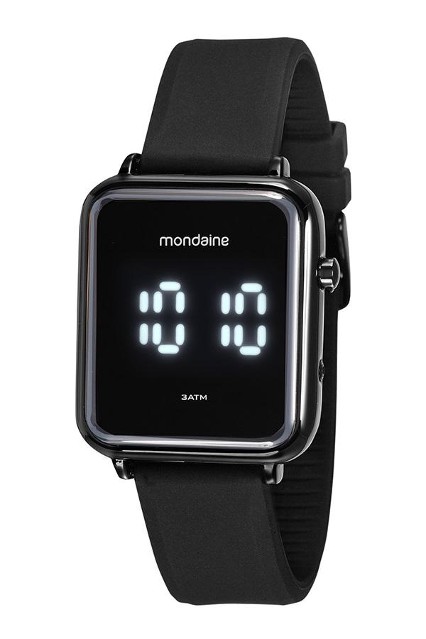 Relógio Mondaine Digital Preto 32151GPMVPI2