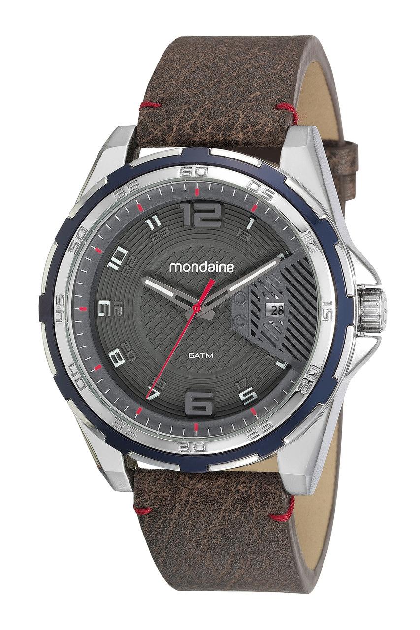 Relógio Pulseira de Couro Mondaine 53754g0mvnh1