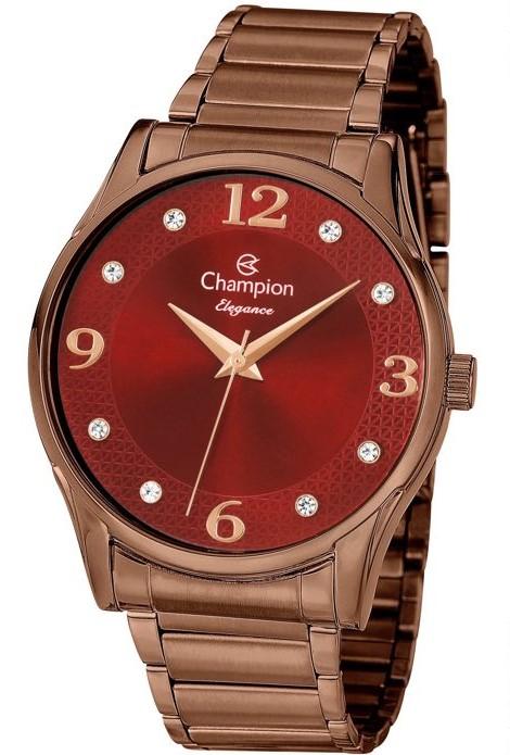 Relógio Champion Feminino Chocolate CN26215V