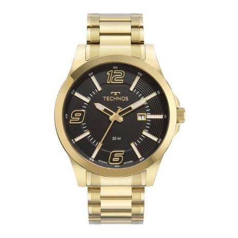 Relógio Technos Masculino Dourado 2115MWP/1P