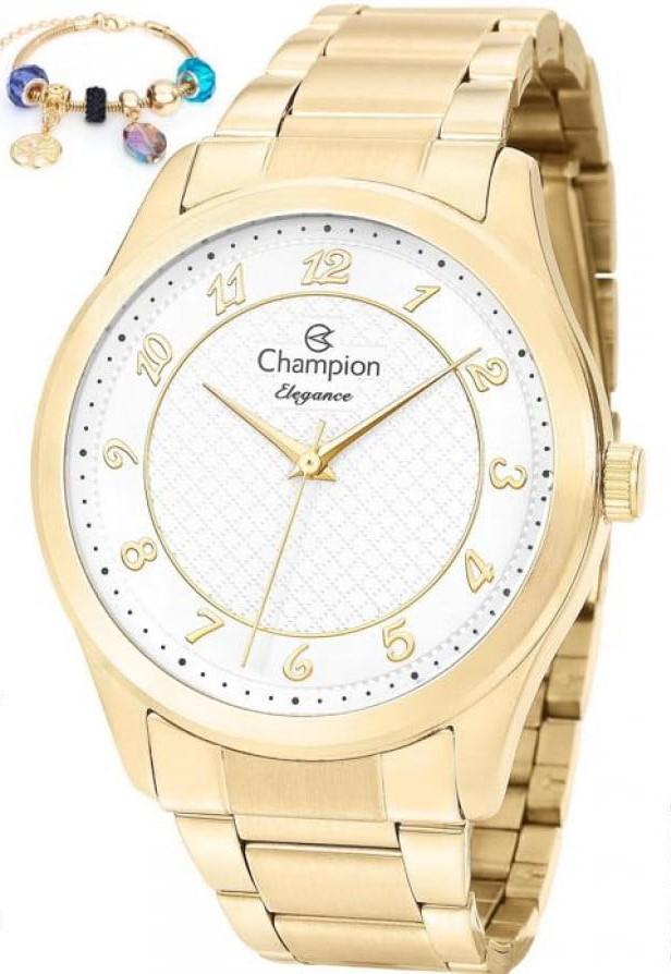Relógio Champion Feminino + Pulseira CN27723S