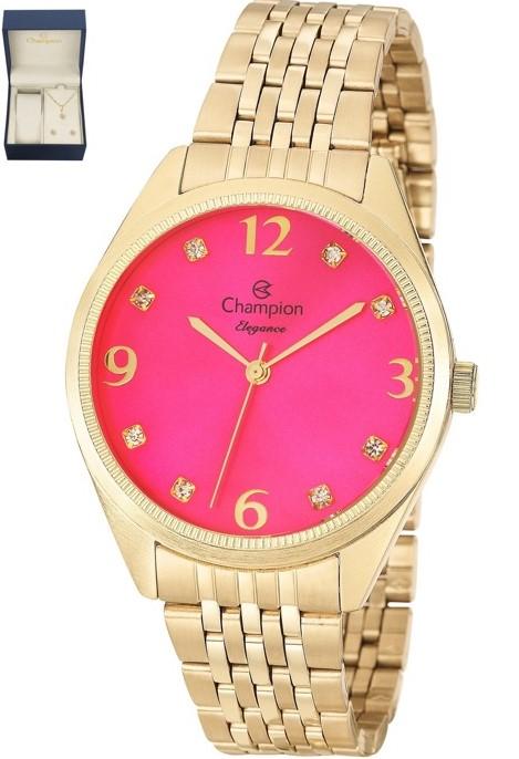 Relógio Champion Feminino Dourado CN26251J