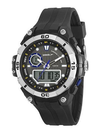 Relógio Speedo Masculino Esportivo Preto 11006G0EVNP2