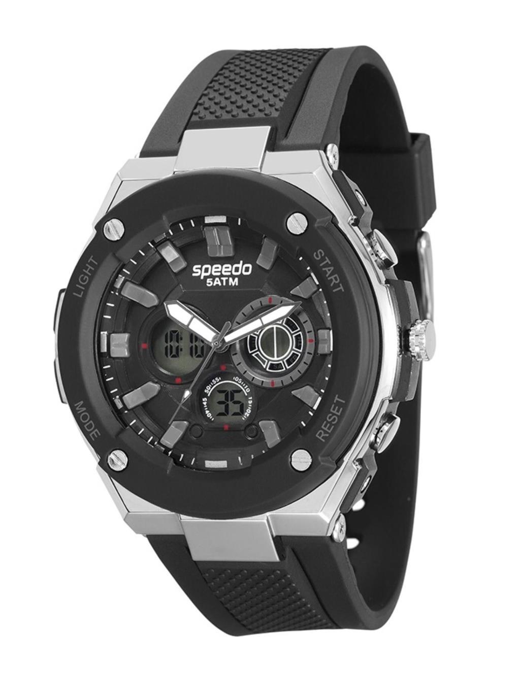 Relógio Speedo Masculino Esportivo Preto 81143G0EVNP2