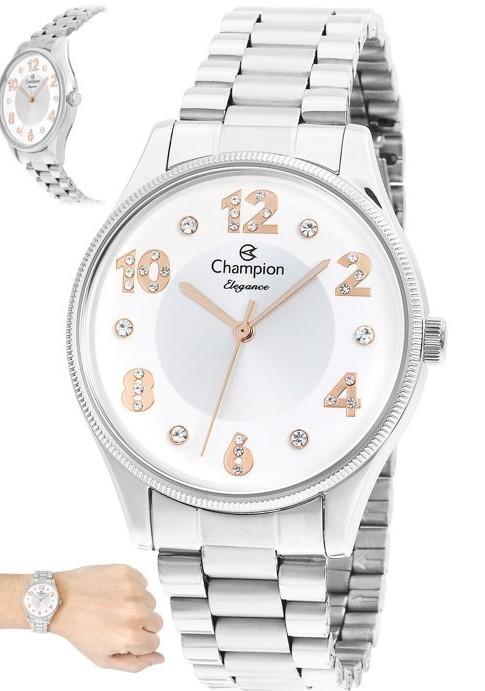 Relógio Champion Feminino Prata CN24002Q