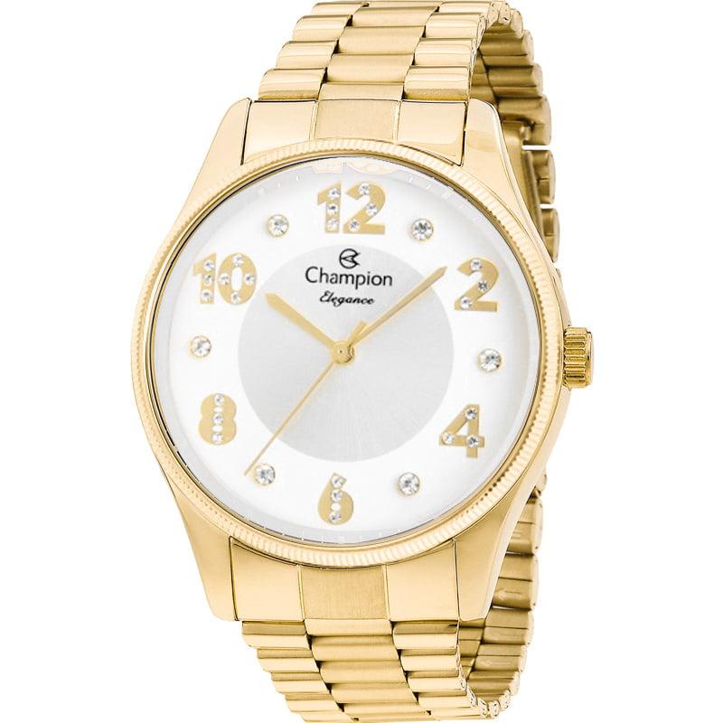 Relógio Champion Feminino Dourado CN24002H