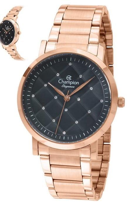 Relógio Champion Feminino Rosê CN25976P