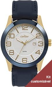 Relógio Condor Masculino Pulseira de Silicone CO2115KTQ/K3K