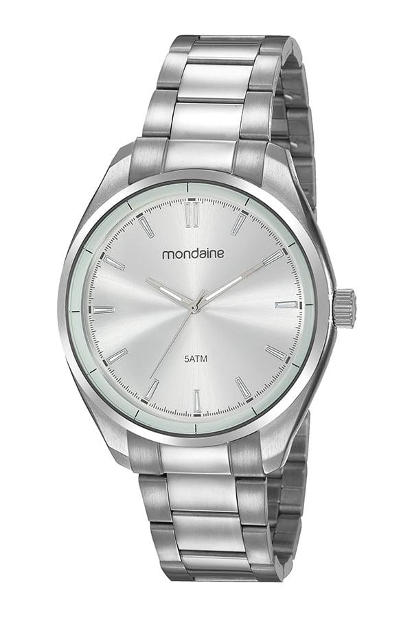 Relógio Mondaine Prata Masculino