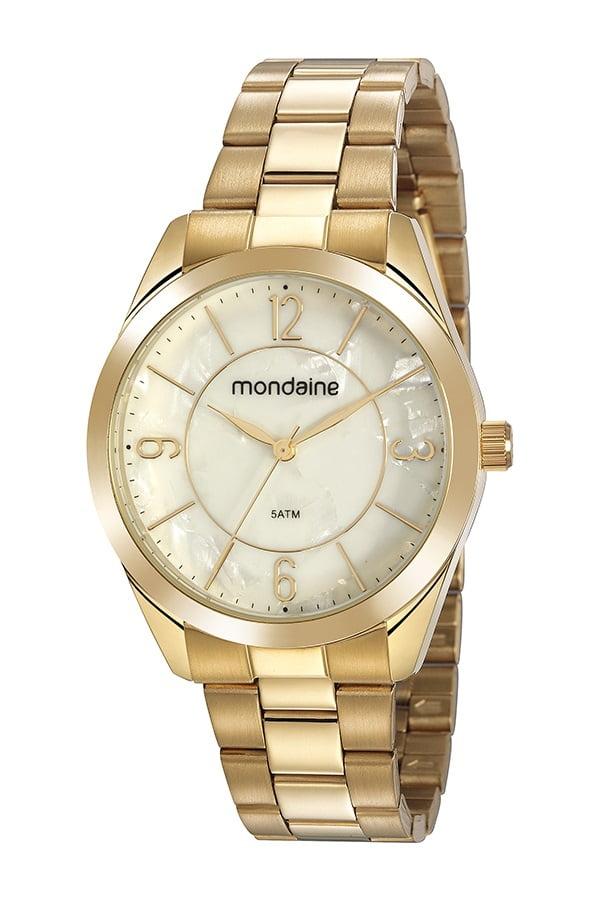 Relógio Mondaine Feminino Dourado 5381