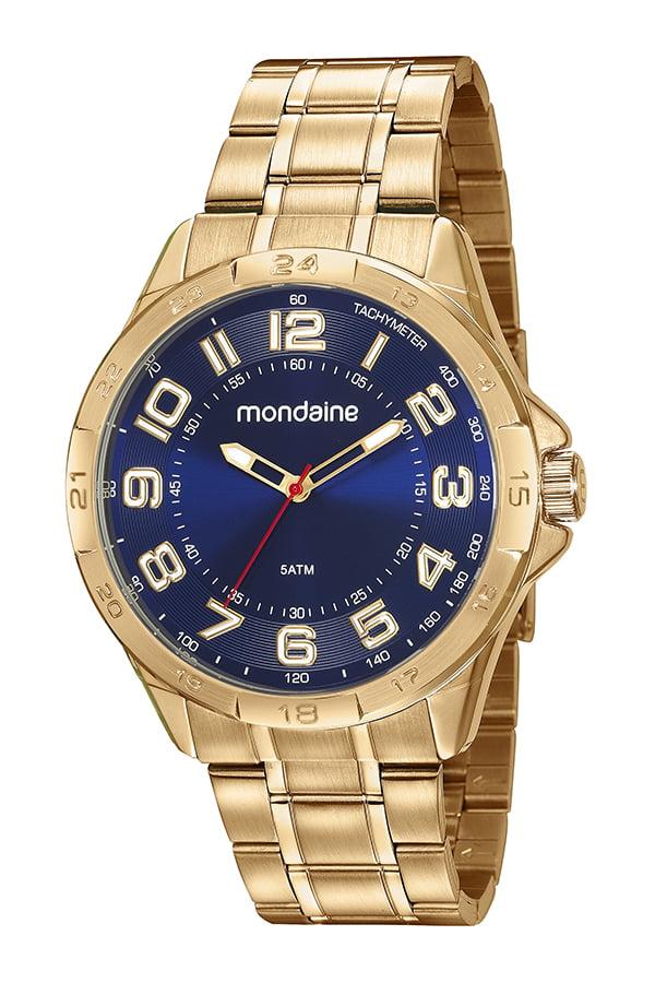 Relógio Mondaine Masculino Dourado