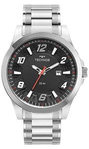 Relógio Technos Masculino Prata 2117LDF/1P