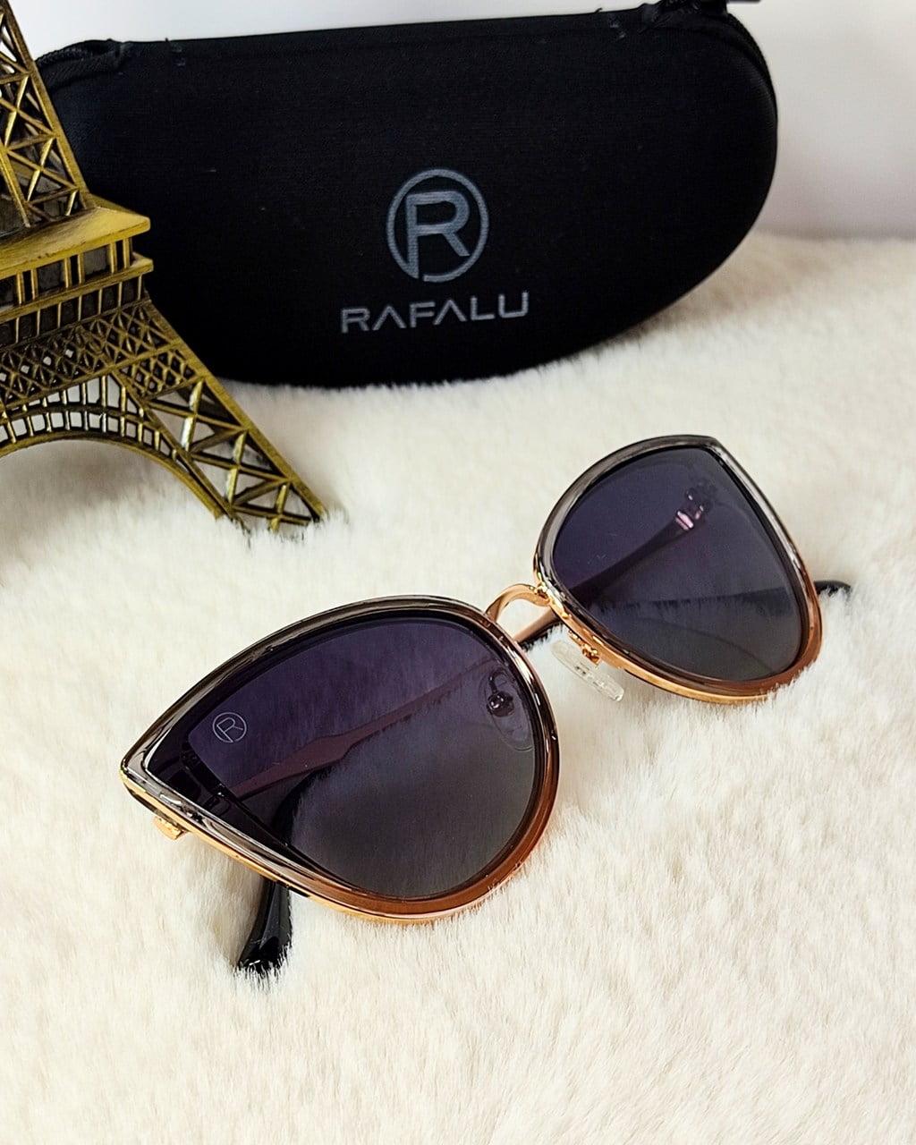 Óculos Solar Feminino Rafalu Gatinho M18422 C3