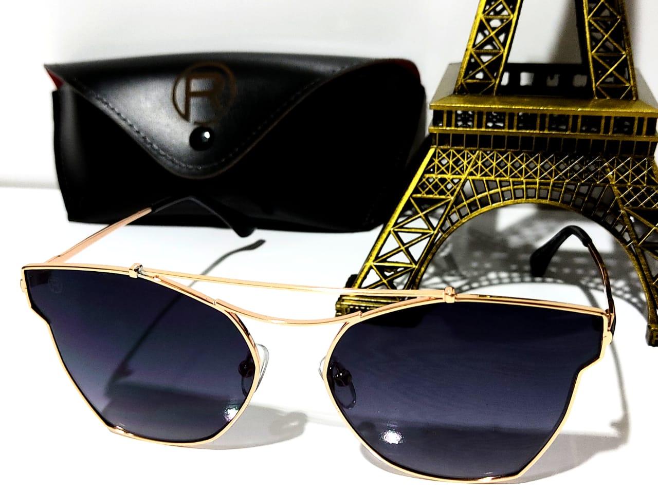 Óculos Solar Feminino Rafalu A088 R48-637