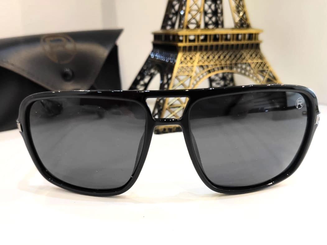 Óculos Solar Masculino Polarizado Rafalu 0075 C1