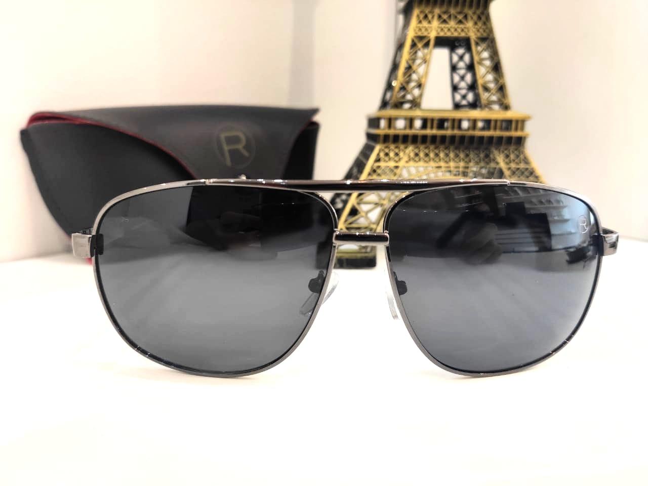 Óculos Solar Masculino Polarizado Rafalu SSJ1479 C1