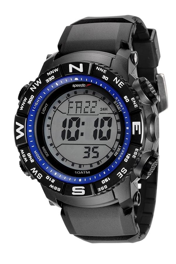 Relógio Speedo Masculino Esportivo Preto 81137G0EVNP6