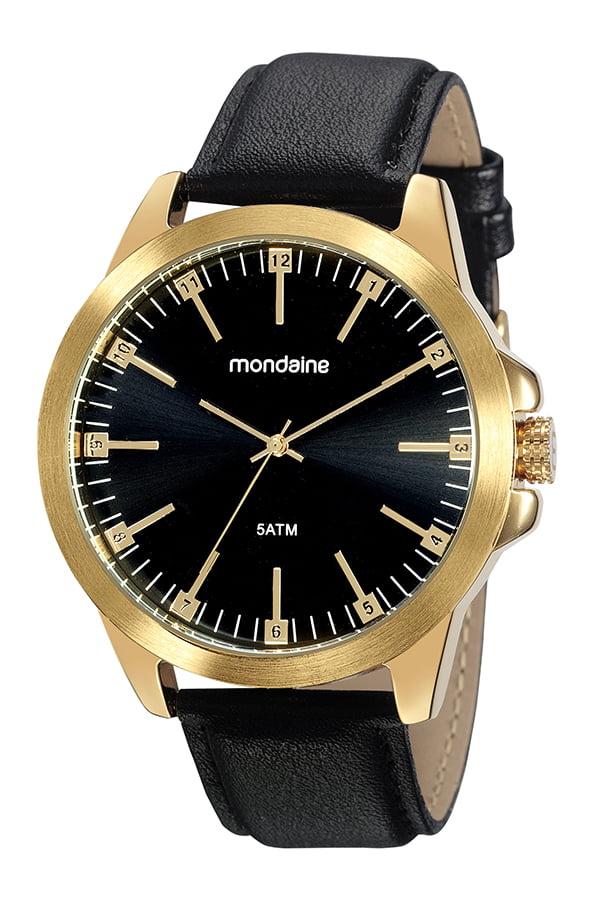 Relógio Mondaine Masculino Couro