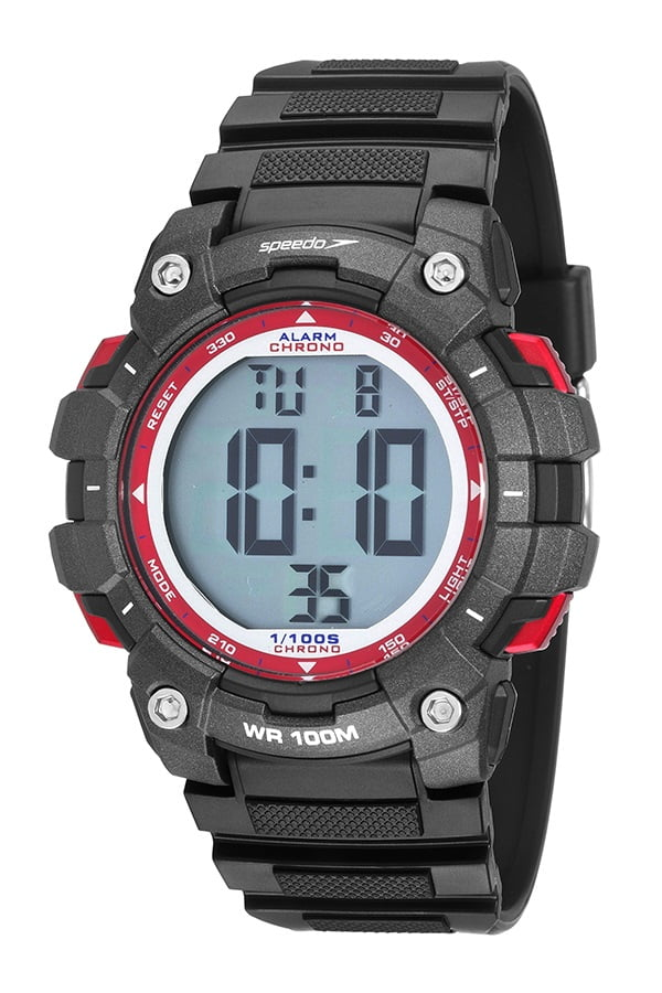Relógio Speedo Masculino Esportivo Preto 80644G0EVNP1