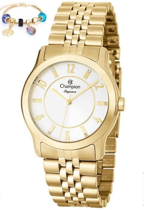 Relógio Champion Feminino + Pulseira CN25074S