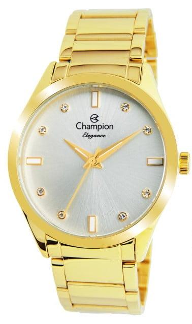 Relógio Feminino Dourado Champion CN25930h