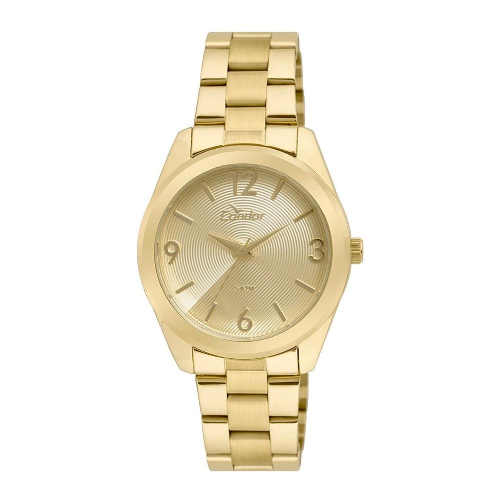 Relógio Condor Feminino Dourado CO2035KSE/4D