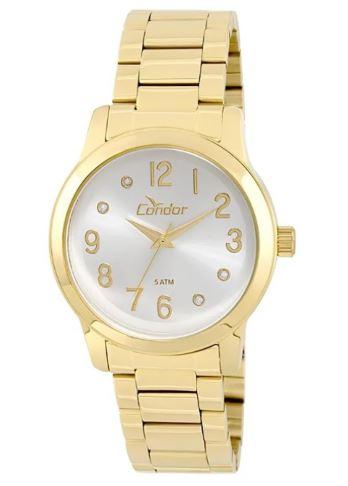 Relógio Condor Feminino Dourado COAL2035KI/4K