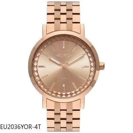 Relógio Euro  Feminino Rosê EU2036YOR/4T
