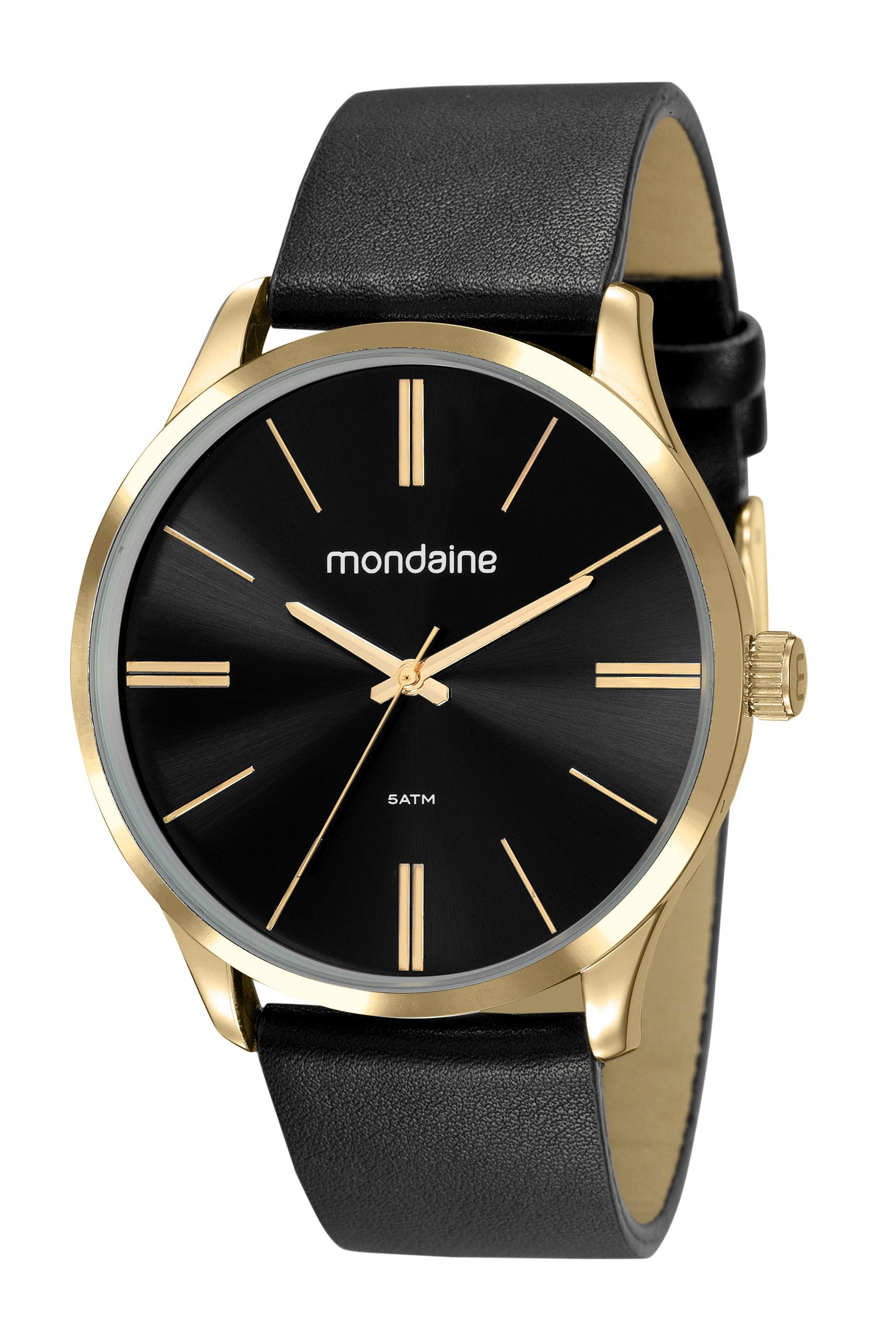 Relógio Mondaine Masculino Couro 53795GPMVDH3