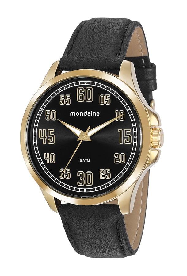 Relógio em Couro Mondaine