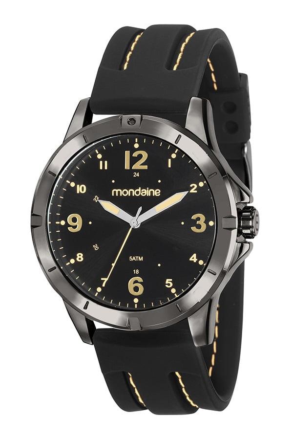 Relógio Masculino Pulseira de Silicone Mondaine 99377GPMVPI3