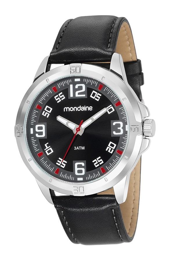 Relógio Mondaine Masculino Couro 83405G0MVNH1