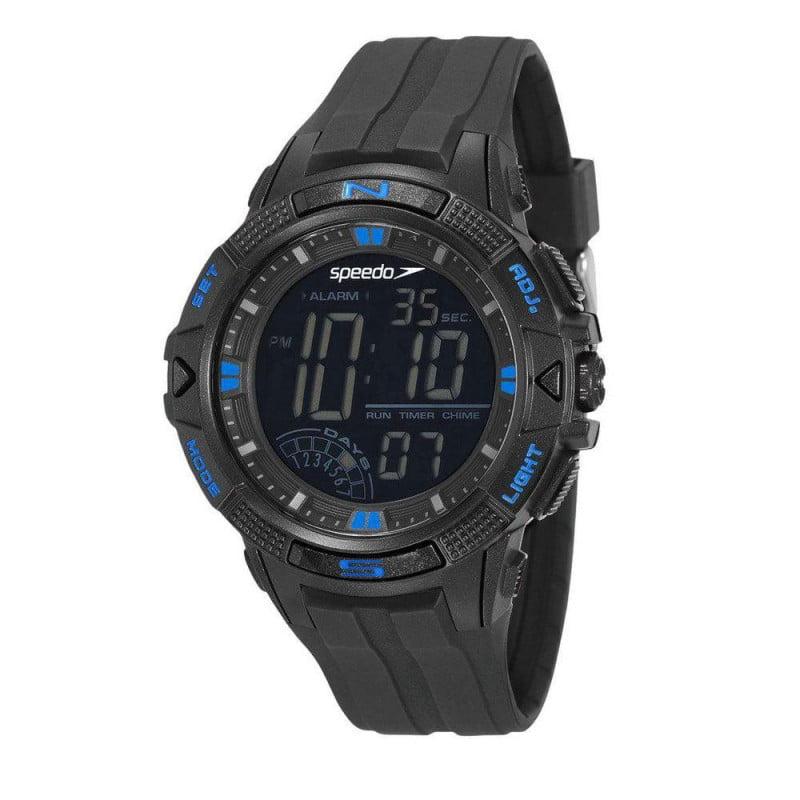 Relógio Speedo Masculino Esportivo Preto 11003G0EVNP2
