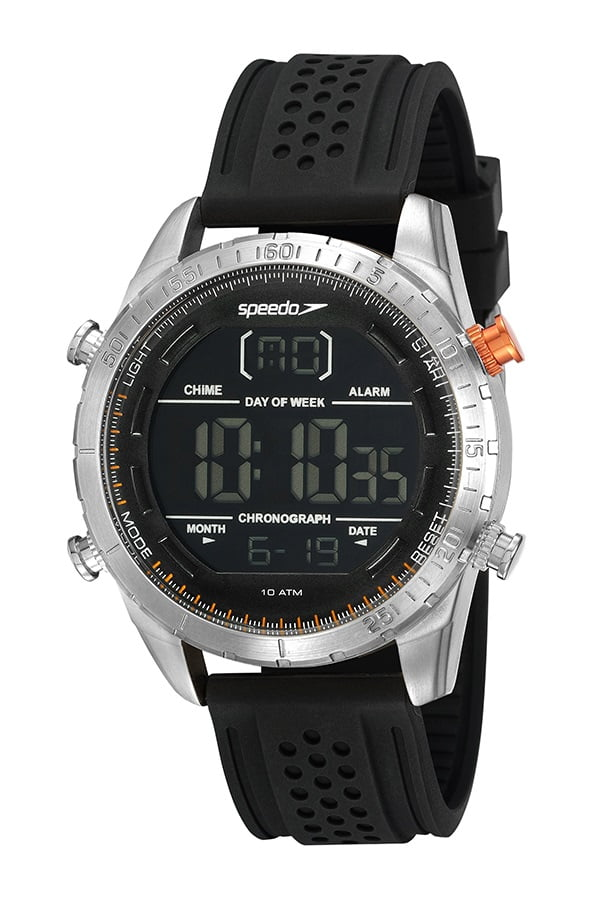 Relógio Speedo Masculino Esportivo Preto 15021G0EVNI3