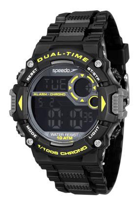Relógio Speedo Masculino Esportivo Preto 80620G0EVNP1
