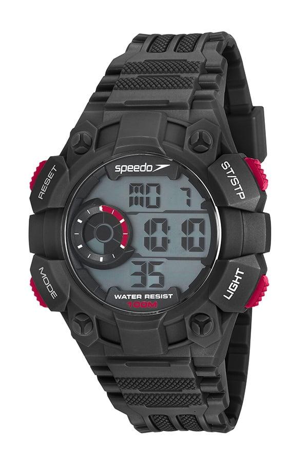 Relógio Speedo Masculino Esportivo Preto 80643G0EVNP1