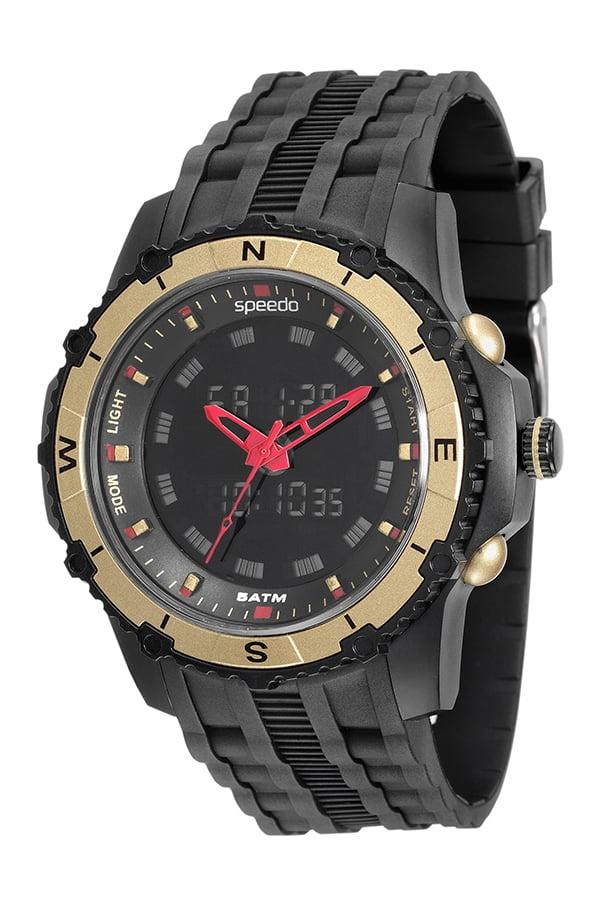Relógio Speedo Masculino Esportivo Preto 81138G0EVNP1