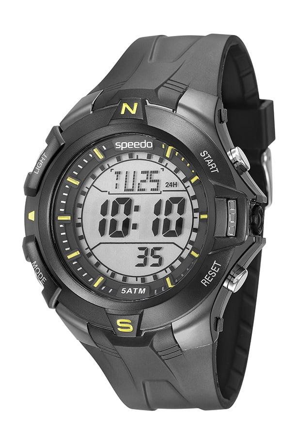 Relógio Speedo Masculino Esportivo Preto 81146G0EVNP1