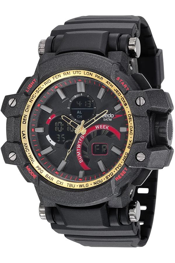 Relógio Speedo Masculino Esportivo Preto 81175G0EVNP1