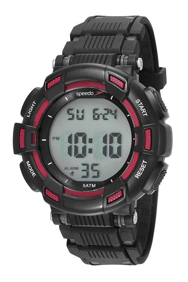 Relógio Speedo Masculino Esportivo Preto 81183G0EVNP1