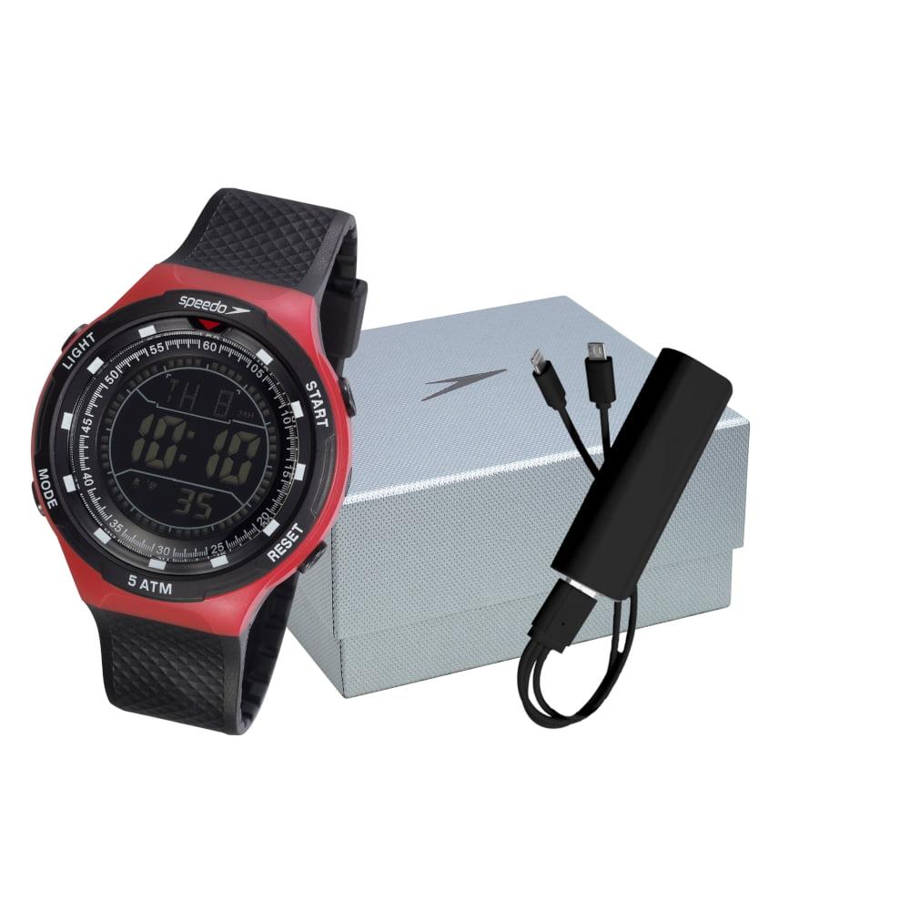 Relógio Speedo Masculino Esportivo Preto 81190G0EVNP2K1