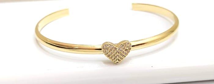 Bracelete Banhado a Ouro Rafalu - PUL0001Z