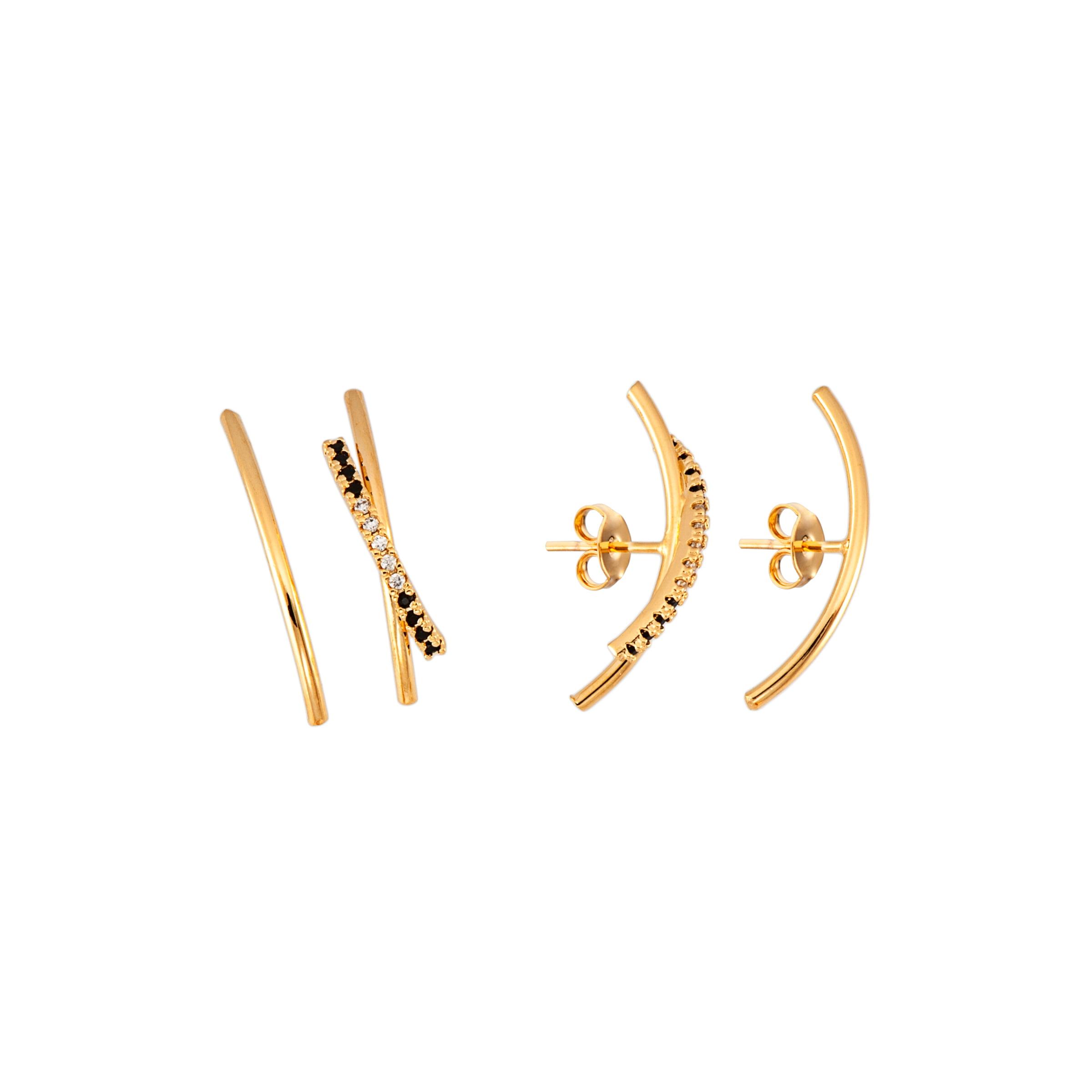 Brinco Ear Hook Rafalu - 5 anos de Garantia -  BR0001N1