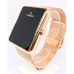 Relógio Digital Quadrado Rosê Champion CH40080H