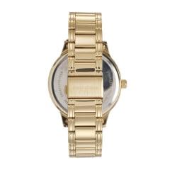 Relógio Mondaine Masculino Dourado Fundo Cinza  + Canivete